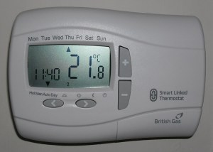 British Gas Remote Heating Control