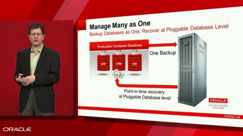 Oracle - Manage many as one