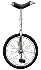 A traditional unicycle