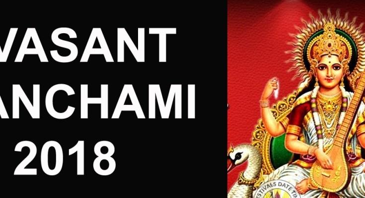 vasant panchami 2018