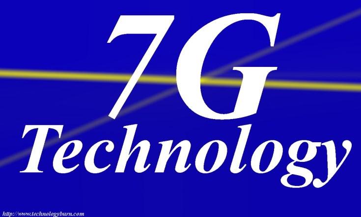 7G technology mobile phone| 7g
