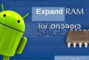 How to Expand RAM on android phone and Tablet
