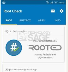 root Infinix Note 3