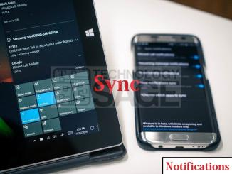 sync notifications across multiple users on Android