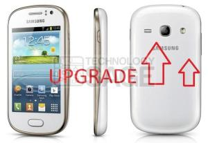 Samsung Galaxy S6810P upgrade