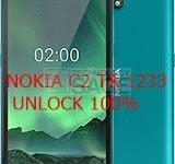 Nokia C2 TA1233 Unlock