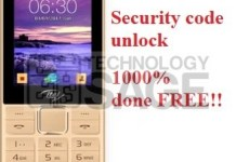 Itel-it5630 security code unlock