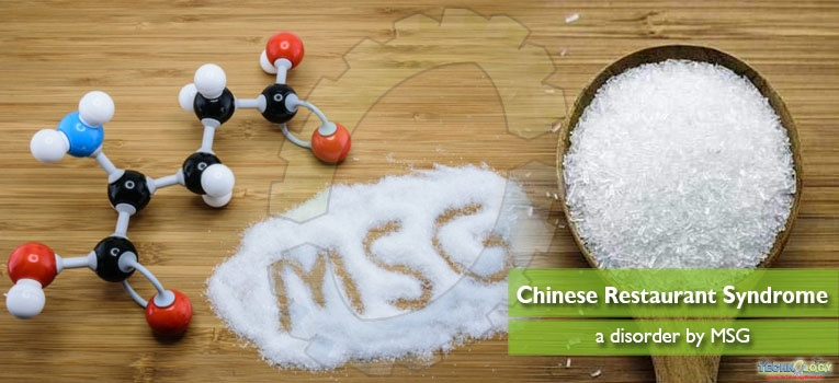 Chinese Restaurant Syndrome a disorder by MSG