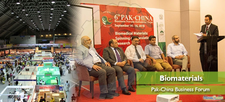 Biomaterials development and Pak-China Business Forum
