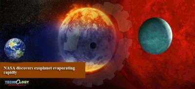 NASA discovers exoplanet evaporating rapidly