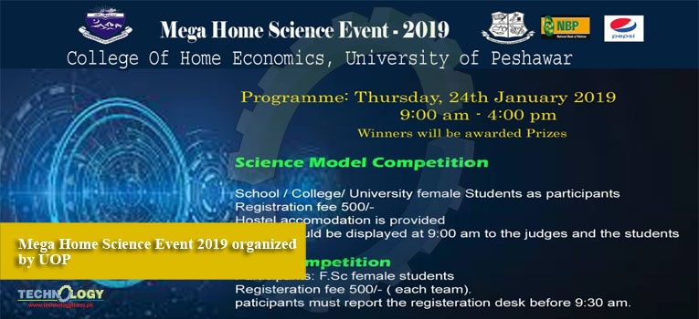 Mega Home Science Event 2019 organized by UOP