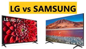 LG vs SAMSUNG TV