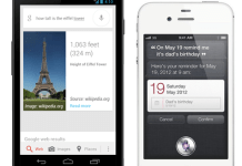 iOS's Siri VS Android's Google Now