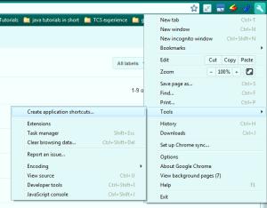 How to make a desktop shortcut to a website or website a desktop icon