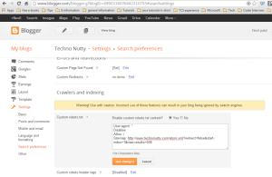 Generate blogger & html sitemap and submit to google,yahoo