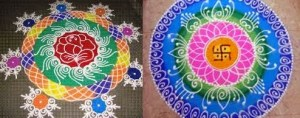 15 Awesome and Easy Rangoli Designs for Diwali Festival