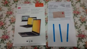 3M Gold Privacy Filter – Must have privacy product for laptop!