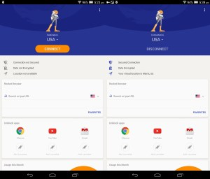 Rocket Vpn for android – Stay anonymous and safe