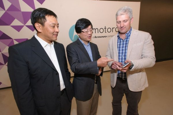 Motorola Mobility/Lenovo Acquisition Day