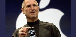 Steve Jobs y Primer iPhone