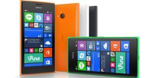 Lumia 735 equipo