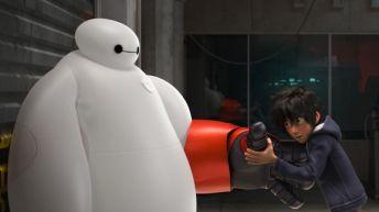 Baymax y Hiro