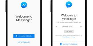 Messenger sin Facebook, Facebook Messenger