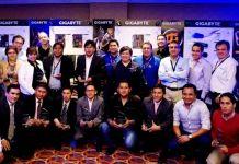 Ejecutivos de Gigabyte con sus socios de canal de Lima y Provincia y sus socios estratégicos