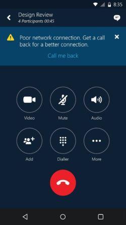 Nueva actualización de Skype Empresarial