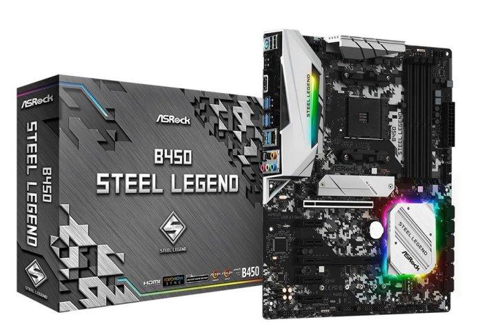 ASRock_B450 Steel Legend_pack
