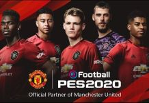 eFootball PES 2020 Manchester United Partnership