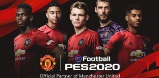 eFootball PES 2020 Manchester United Partnership