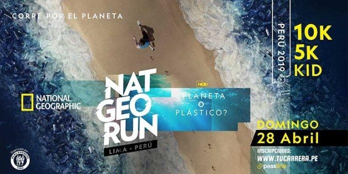 NAT GEO RUN llega nuevamente al Perú, la carrera por el medio ambiente de National Geographic