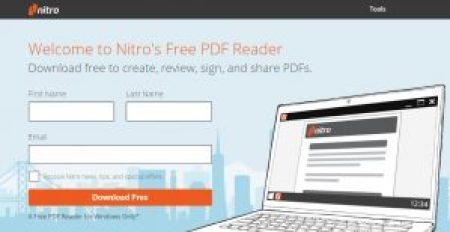 PDF Viewers for PC - WIndows 7 8 10 Nitro PDF Reader