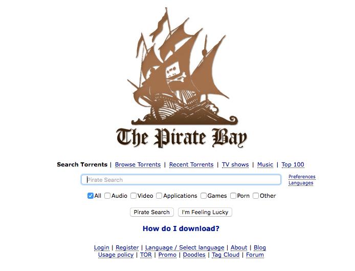 working pirate bay proxy 2018