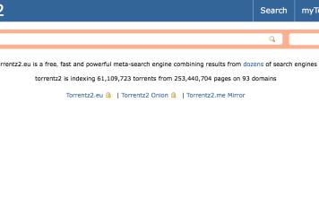 Torrentz Unlocked using Proxy and Mirrors