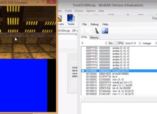 TronDS Emulator can run Homebrew files