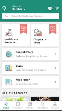 PharmEasy Only Pharmacy App