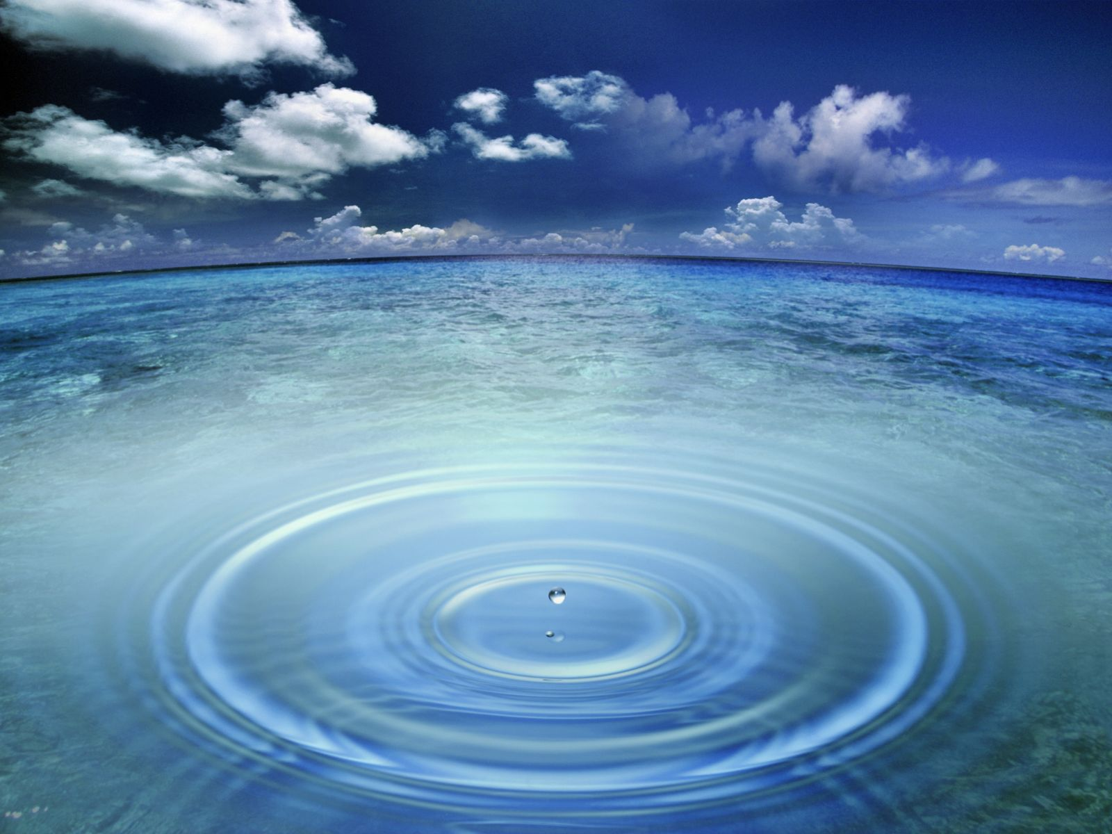 Ocean Water Drop Wallpapers Image