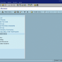 SAP User Interface