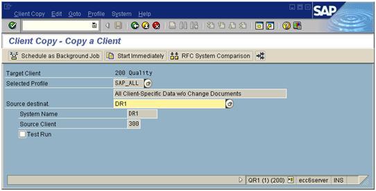SAP-Client-Copy