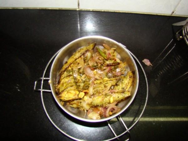 Fried Bitter Melon Recipe Karela