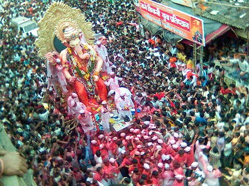 Ganesh Chaturthi Celebration.