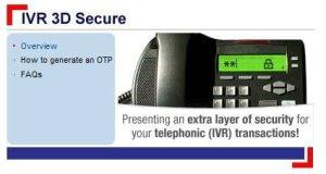 IVR 3D Secure