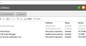 Manage Windows Startup programs