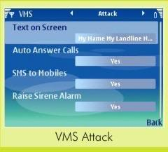 Attacking the mobile with VMS