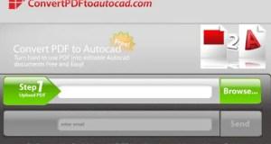 Convert to Autocad