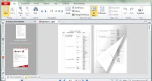 Create PDF files and Read PDF files in flip style like a book Soda 3D PDF Reader