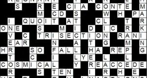 Crossword Print at Home