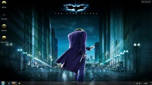 Dark Knight Windows 7 Theme